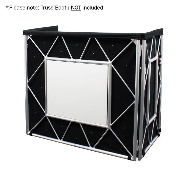 EQUINOX Truss Booth LED sterrendoek 48x 5mm witte LEDs