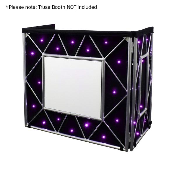 EQUINOX Truss Booth Quad LED sterrendoek 48x RGBW LEDs