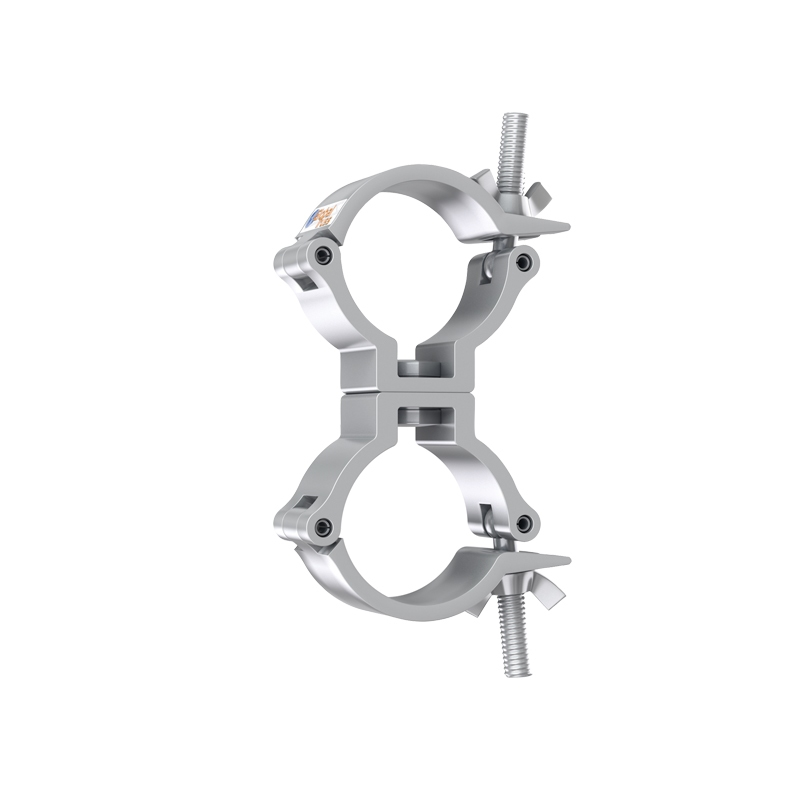 GLOBAL TRUSS Narrow Swivel Coupler Silver (5032-2)