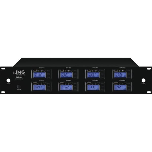 IMG STAGELINE TXS-686 8-kanaalsmicrofoonontvanger