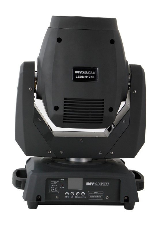 INVOLIGHT 2x LED MH127S 127W Spot LED Movinghead set + case