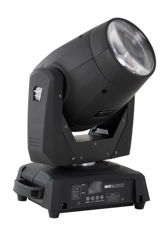 INVOLIGHT 2x LED MH77B 75W LED Beam Movinghead + case