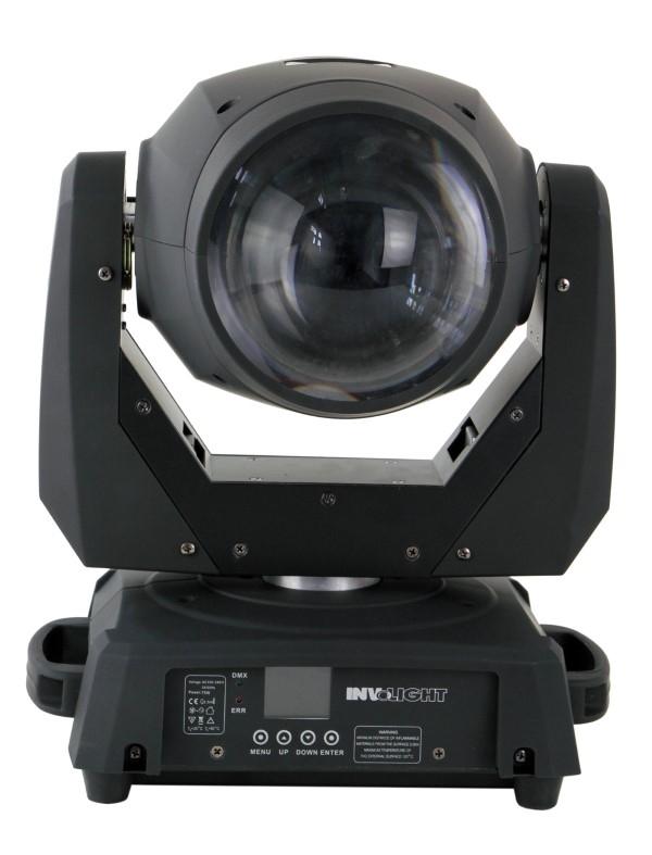 INVOLIGHT 2x LED MH77B 75W LED Beam Movinghead + case