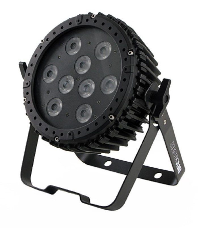 INVOLIGHT LEDPAR 95W 9x10W RGBWA - Outdoor IP65