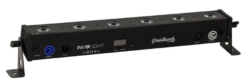 INVOLIGHT PaintBAR UV6 6x 3W UV-LED LEDBAR