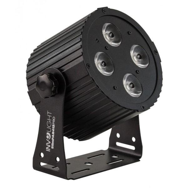 INVOLIGHT SlimPAR412 PRO LED Schijnwerper 4x 12W RGBWA/UV LE