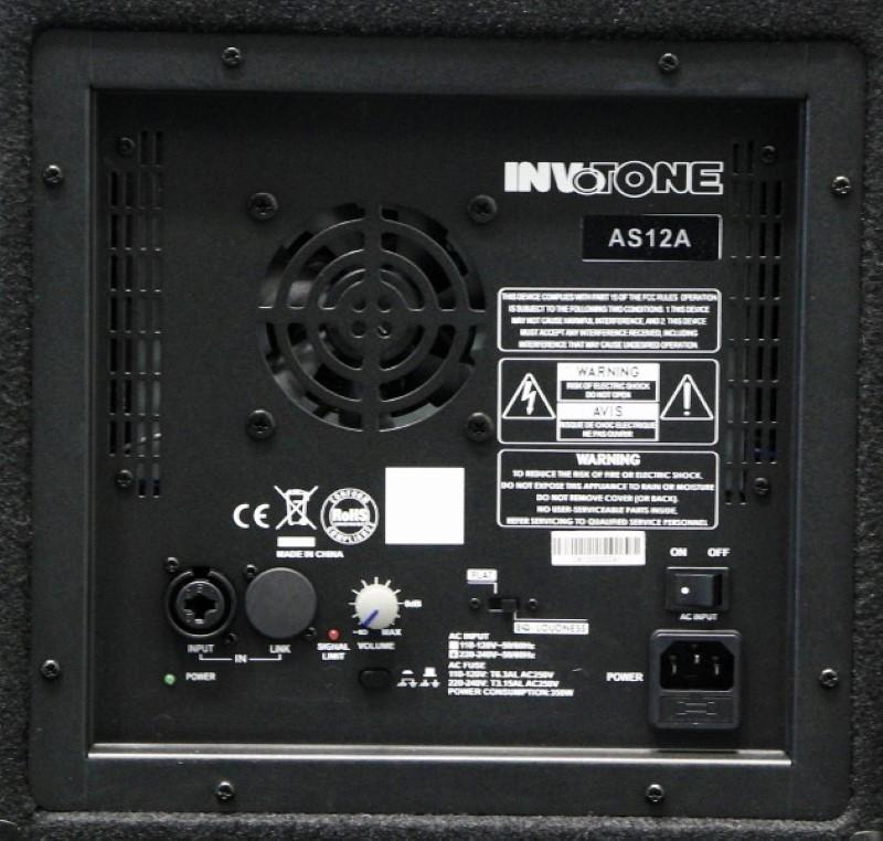 INVOTONE AS12A vermogen 300 Watt RMS