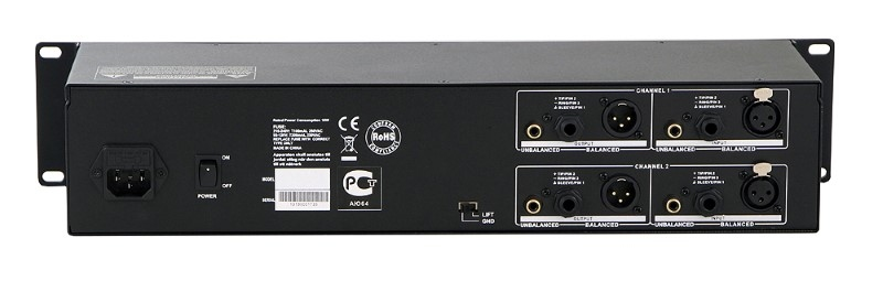 INVOTONE IEQ231 2x 31 bands 19 inch Equalizer