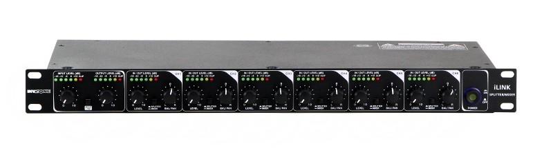 INVOTONE ILINK Audio -splitter / -mixer 6+2 kanaals