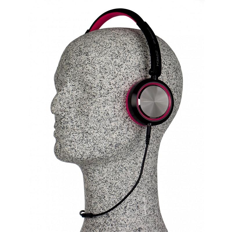 JB SYSTEMS HeadZ Hoofdtelefoon - Fuchsia