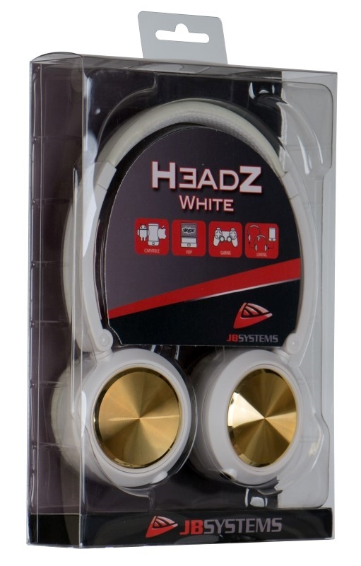 JB SYSTEMS HeadZ Hoofdtelfoon voor custom gebruik