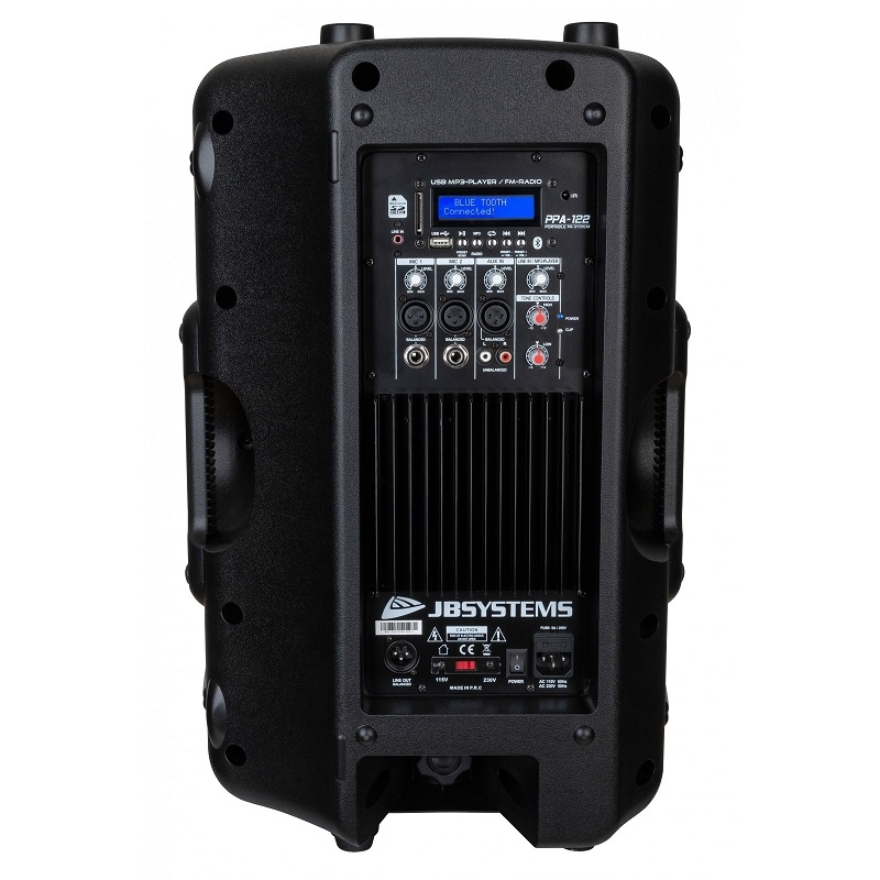 JB SYSTEMS PPA-122 Draagbare actief systeem 250W RMS