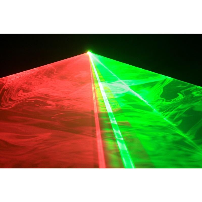 JB SYSTEMS Smooth Scan-3 MK2 Laser Groen 50mW en Rood 100mW