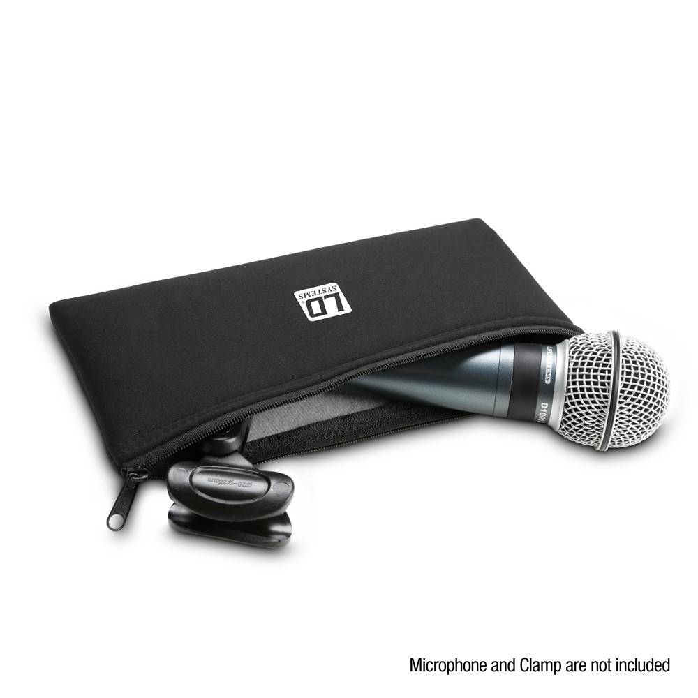LD Systems MIC BAG M S Korte tas voor microfoons met snoer