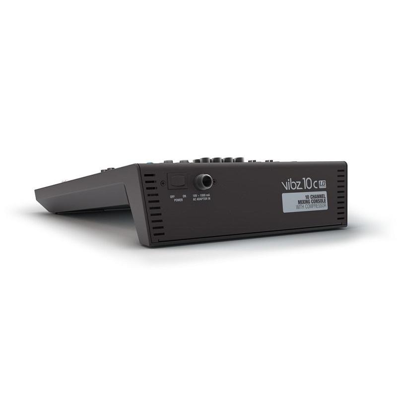 LD SYSTEMS VIBZ 10C - 10 kanaals mengpaneel met compressor