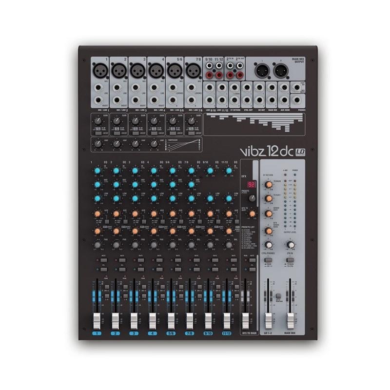 LD SYSTEMS VIBZ 12DC Live Mixer