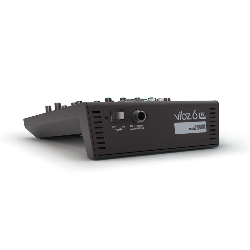 LD SYSTEMS VIBZ 6 - 6 kanaals mengpaneel