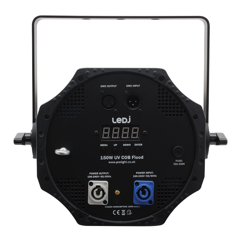 LEDJ 150W UV COB WASH (alternatief UV kanon)
