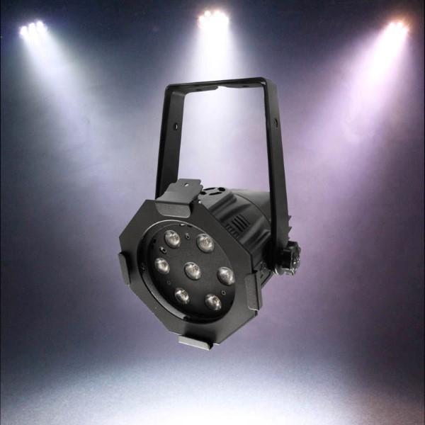 LEDJ Alu PAR Compact Alu 7x 4W WW