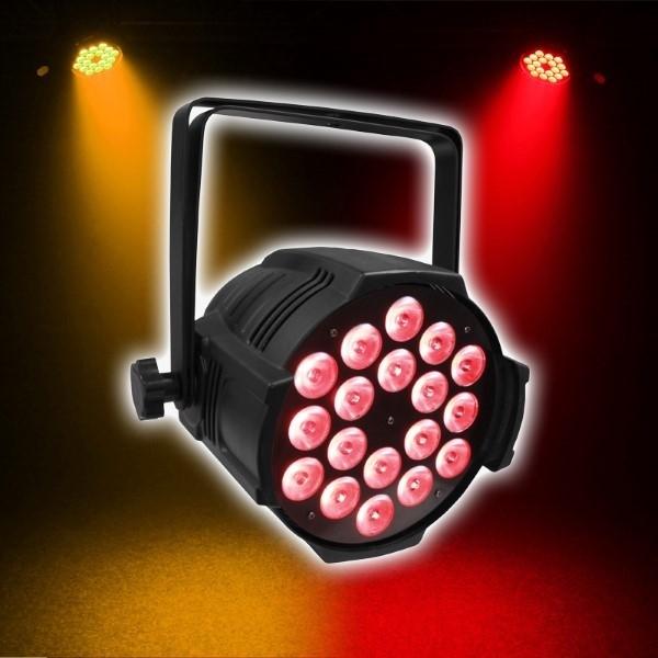 LEDJ ALU Performer 18 RGBWA (18x 10W)