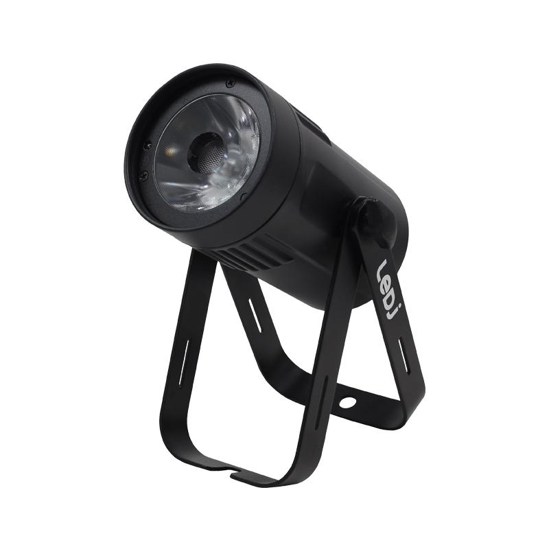 LEDJ Event Spot Warm White MKII - zwarte behuizing