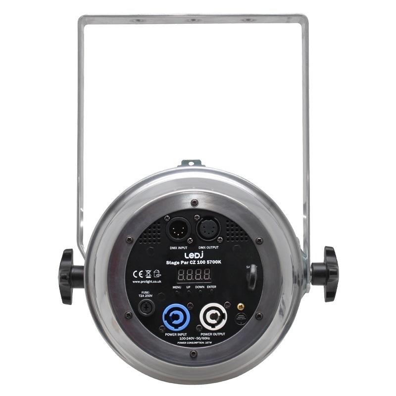 LEDJ LEDJ191P Stage Par CZ 5700K - 100W Cool White COB LED