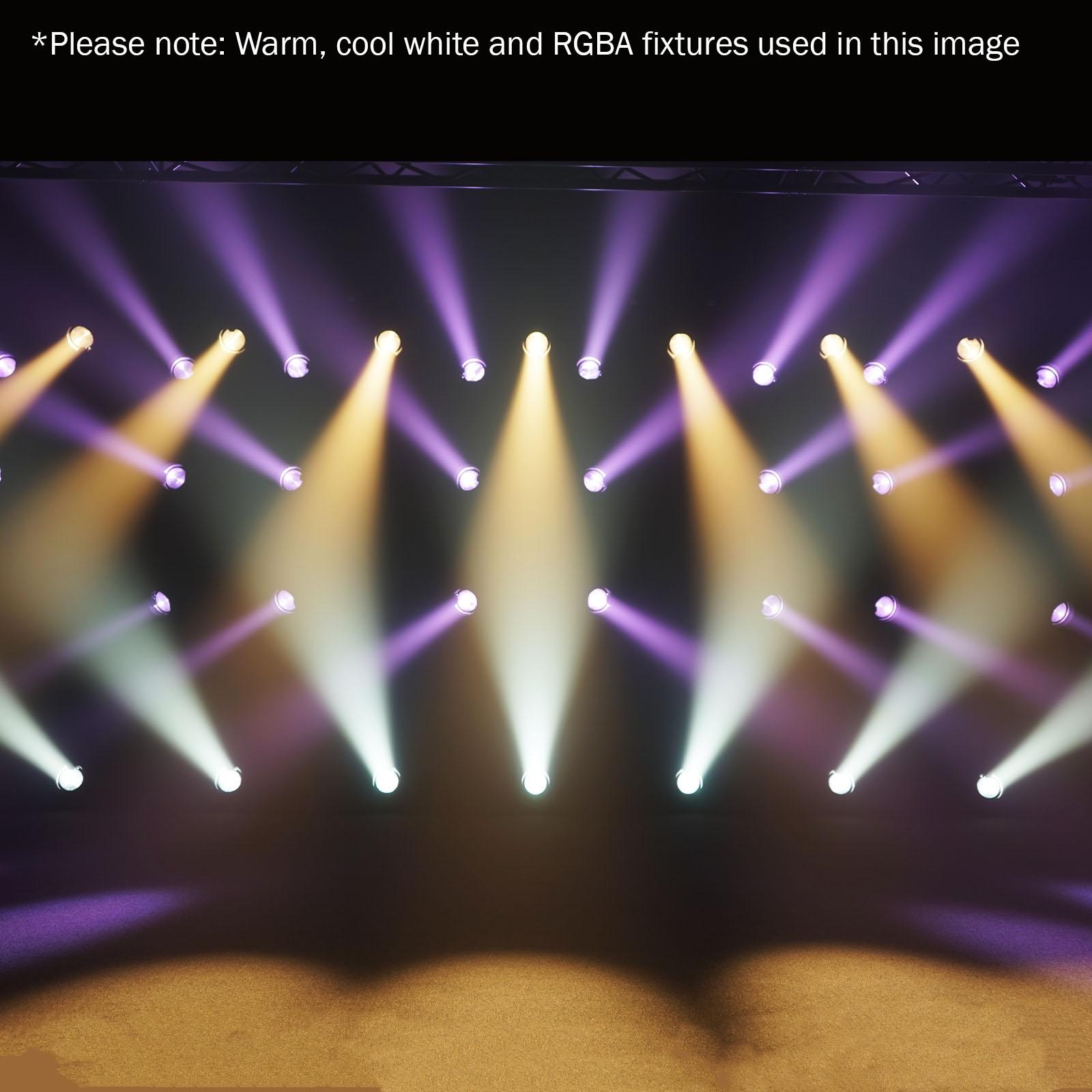 LEDJ LEDJ192 Stage Par CZ 120 RGBA - 120W Quad Color LED