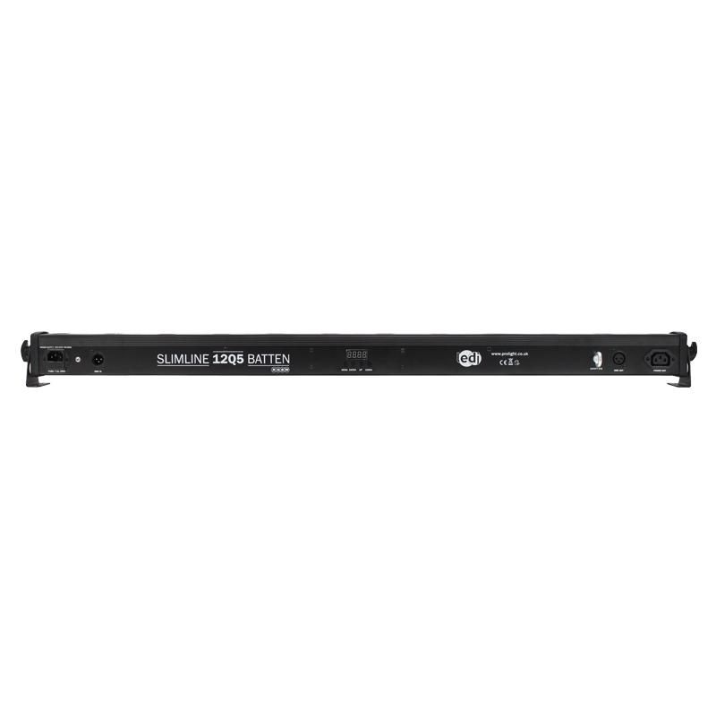 LEDJ Slimline 12Q5 RGBW Batten (zwart)