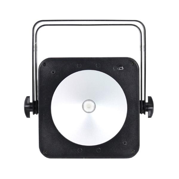 LEDJ Slimline 1T36 COB LED par (zwart of wit) - zwart