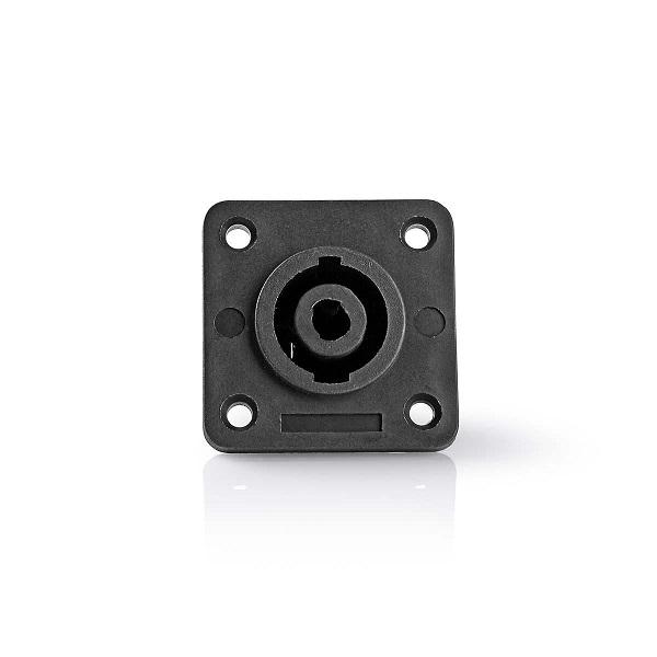 Luidsprekerconnector 4-pins female