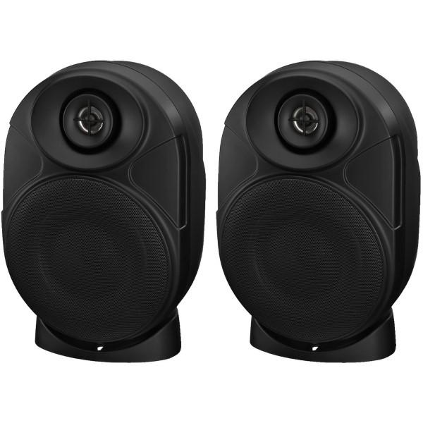 MONACOR MKA-50BSET/SW 2-WEG Bluetooth speakers 2x 20W (paar)