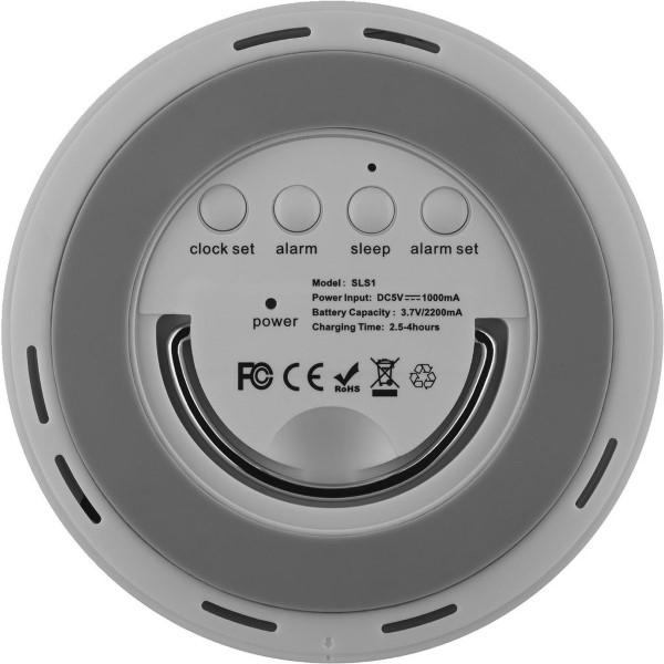 MONACOR SLS1 Bluetooth speaker / smart touch lamp