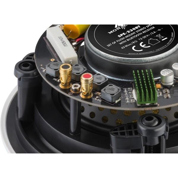 MONACOR SPE-230BT Bluetooth actief-passief plafondspeakerset