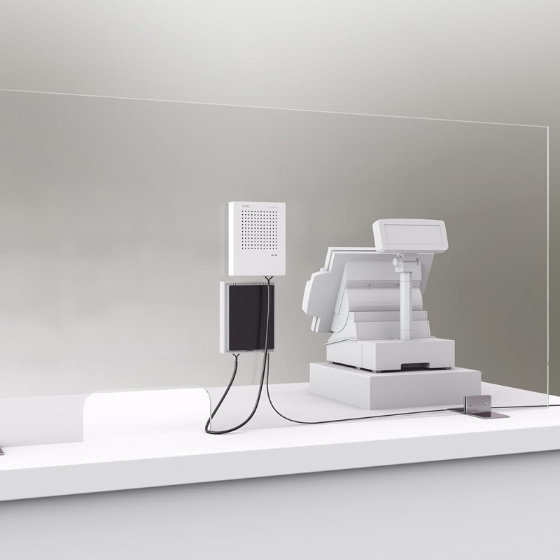 MONACOR Voice-Bridge Intercom, Baliemicrofoon (Covid-19)
