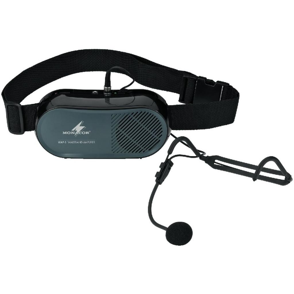 MONACOR WAP-5 Taille speaker met headset