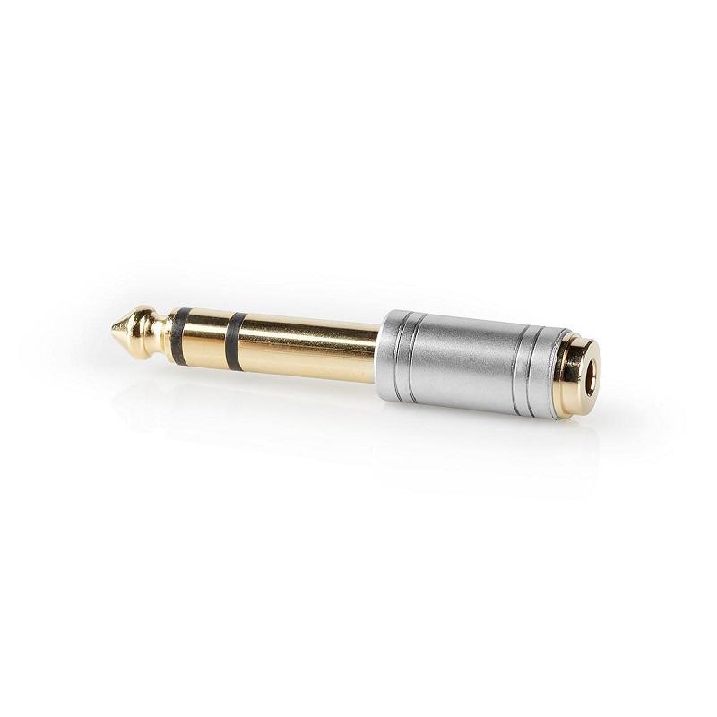 NEDIS CAGC23930ME Verloop St.6,35mm male / 3,5mm female jack
