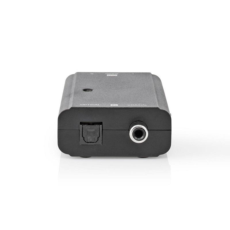NEDIS Digitaal naar Stereo Audio-omzetter S/PDIF + Toslink