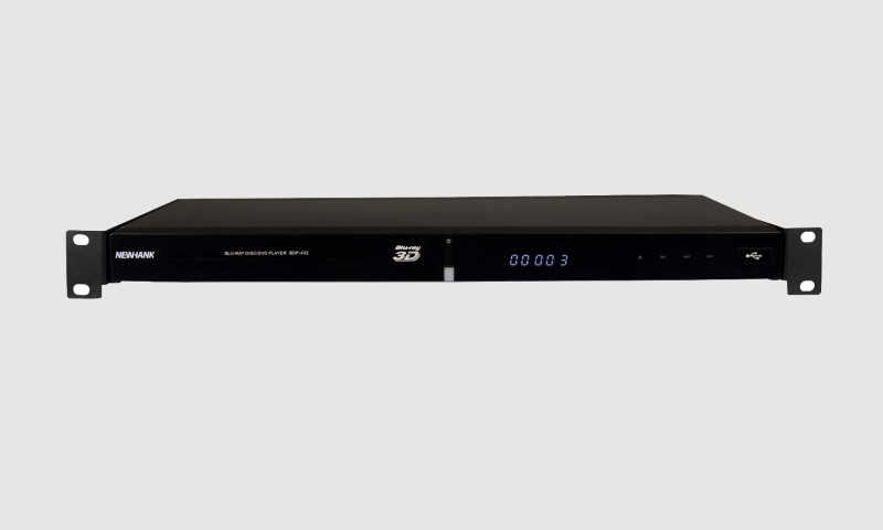"NEWHANK BDP-432 19""Rack Mediaplayer met Blue-ray functie"
