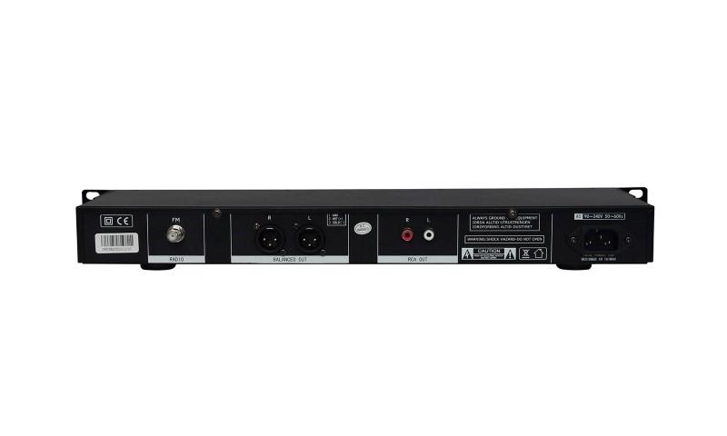 NEWHANK Checkmate met FM tuner, bluetooth en USB/SD