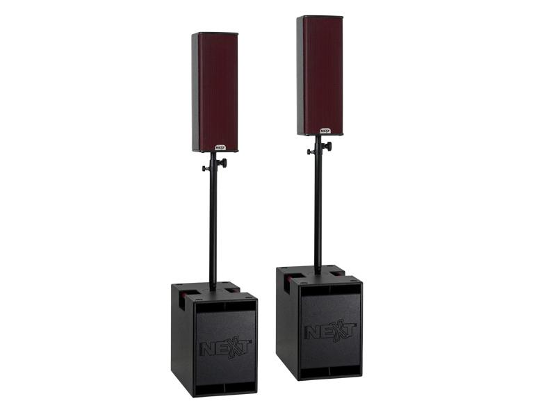 NEXT Speakerset 2x HFA112S + 2x HFA206 3200W