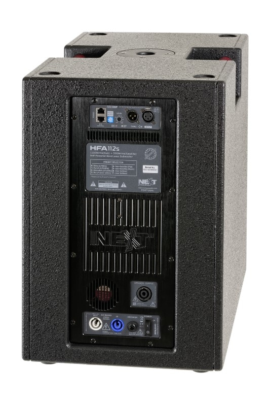NEXT Speakerset 2x HFA112S + 2x HFA206P 3000W