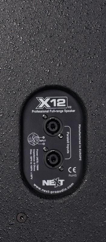 NEXT X12 700W 12 inch fullrange