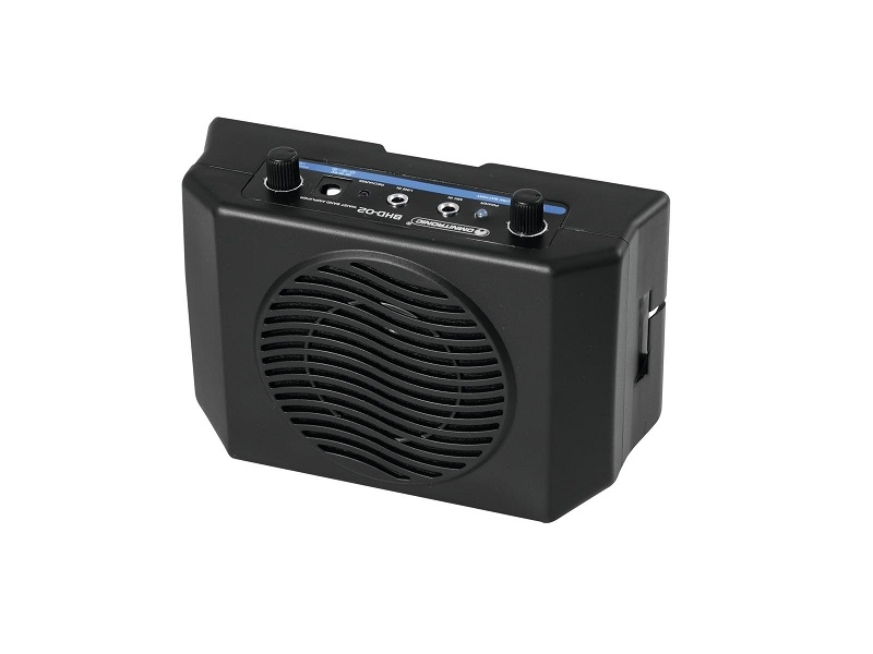 OMNITRONIC BHD-02 Tailleband speaker met headset