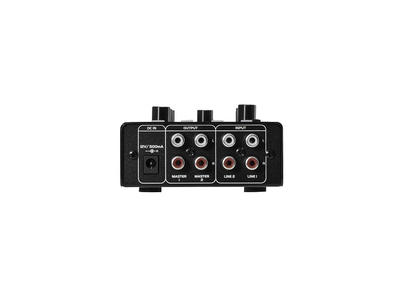 OMNITRONIC GNOME-202P DJ mixer 2-kan. Bluetooth, MP3 player