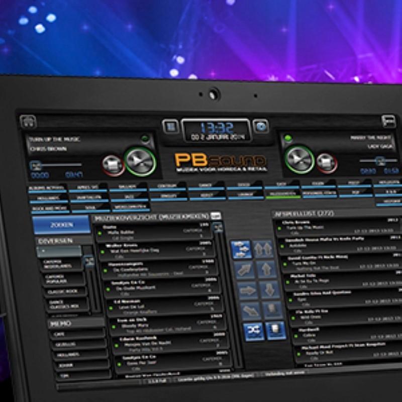 PB Sound All in One Touch muziekcomputer