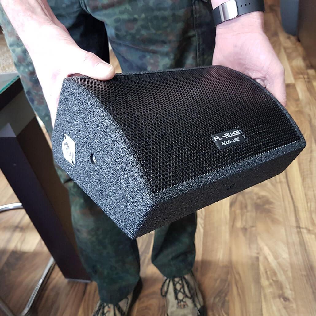 PL AUDIO Flatbox actieve mini-monitor 200W