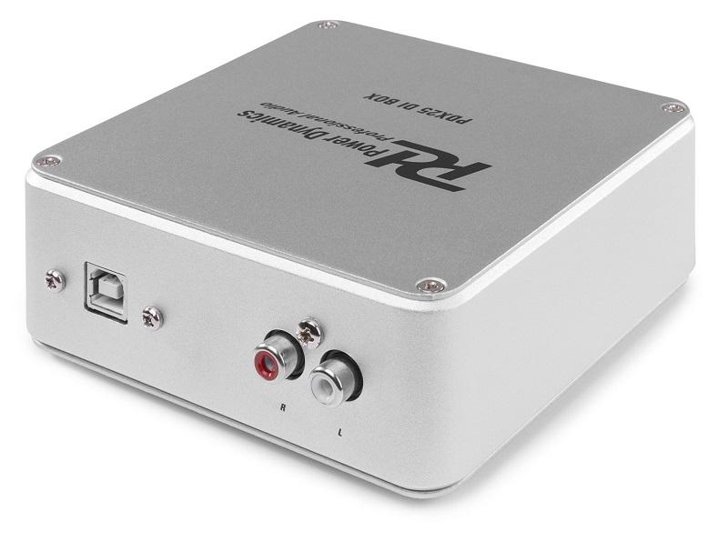 POWER DYNAMICS PDX25 USB Audio Interface 2-kanaals