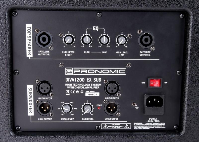 PRONOMIC DIVA 1200 EX