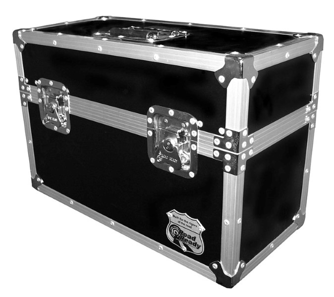 ROAD READY case voor 18 microfoons of 2x Fusion 100/120 Zoom