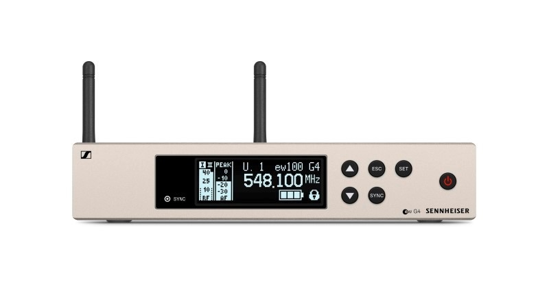 SENNHEISER EW100 G4-835-S draadloos microfoonsysteem